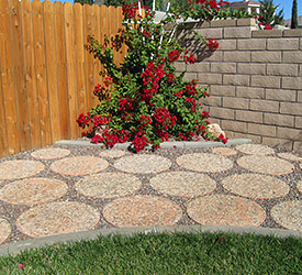 Exposed Aggregate Pavers